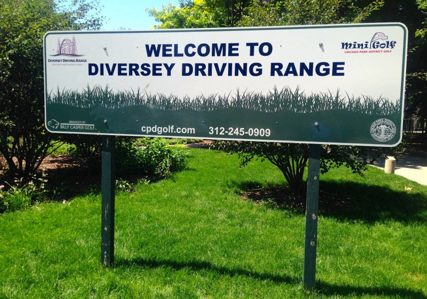 Diversey Range has been serving Chicago golfers for over 100 years     can drive beyond the friendly confines of the range  It takes quite a  poke  though  Wieland said the back fence  about 30 feet high  is about 300  yards