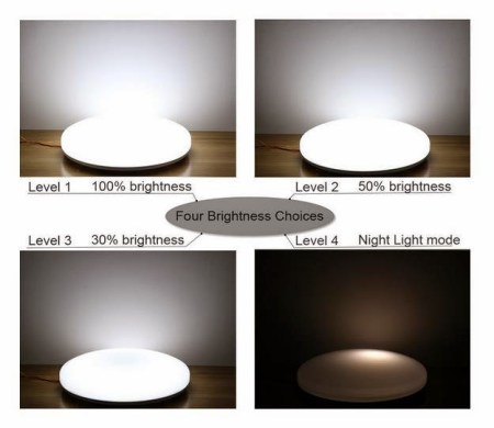 Super Bright Dimmable LED Ceiling Light Fixtures  50  Discount     So it s like you got 4 LED ceiling lights in your room    It s perfect in  living room  bedroom bathroom and dining room or even kitchen if you like