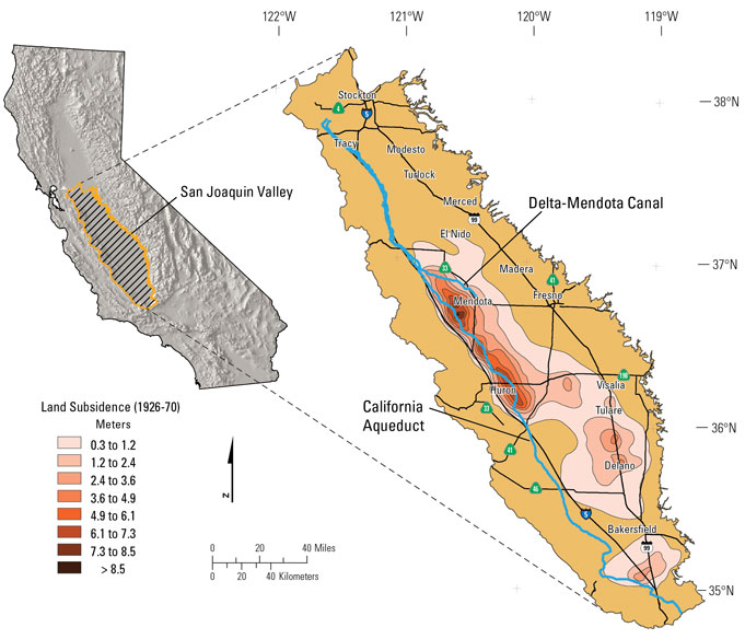Draining the San Joaquin aquifers in California's Central ...
