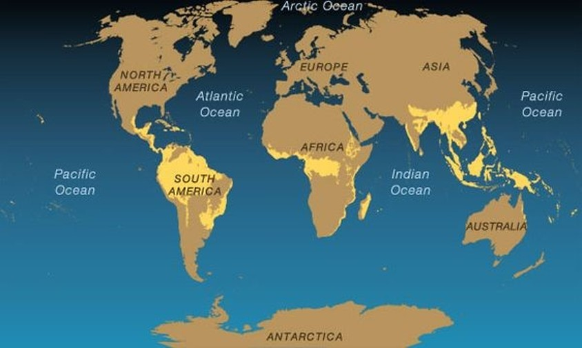 Environmental Map Central America