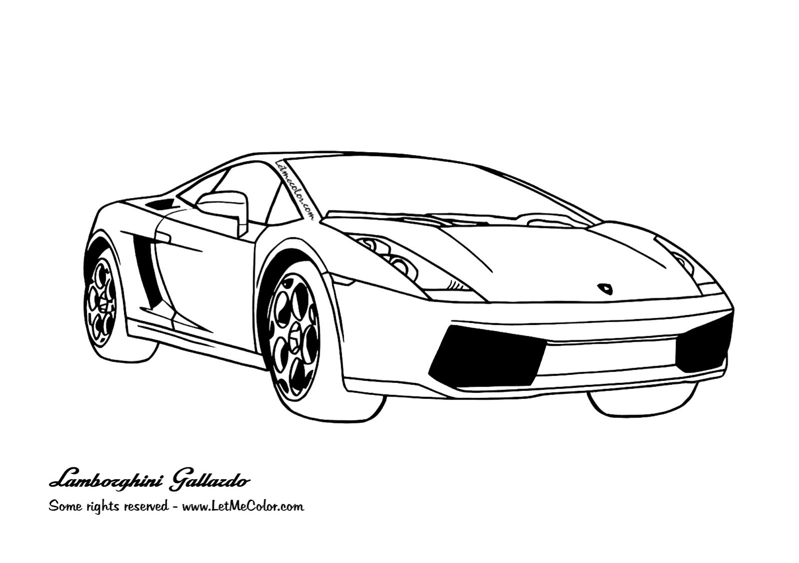 Cars Letmecolor