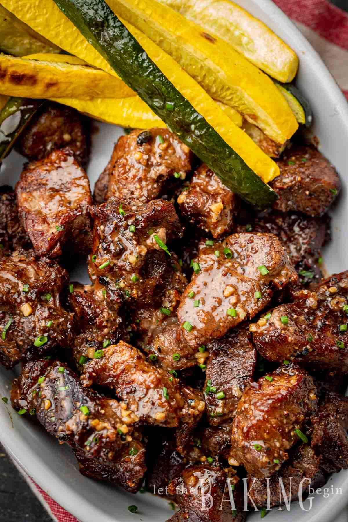 Air Fryer Steak Tips Recipe Let The Baking Begin