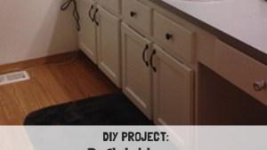 Refinishing A Wood Bathroom Vanity (Part 1): Preparation