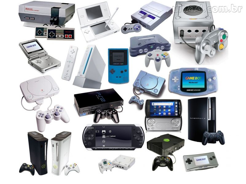 video game consoles - HD2048×1536