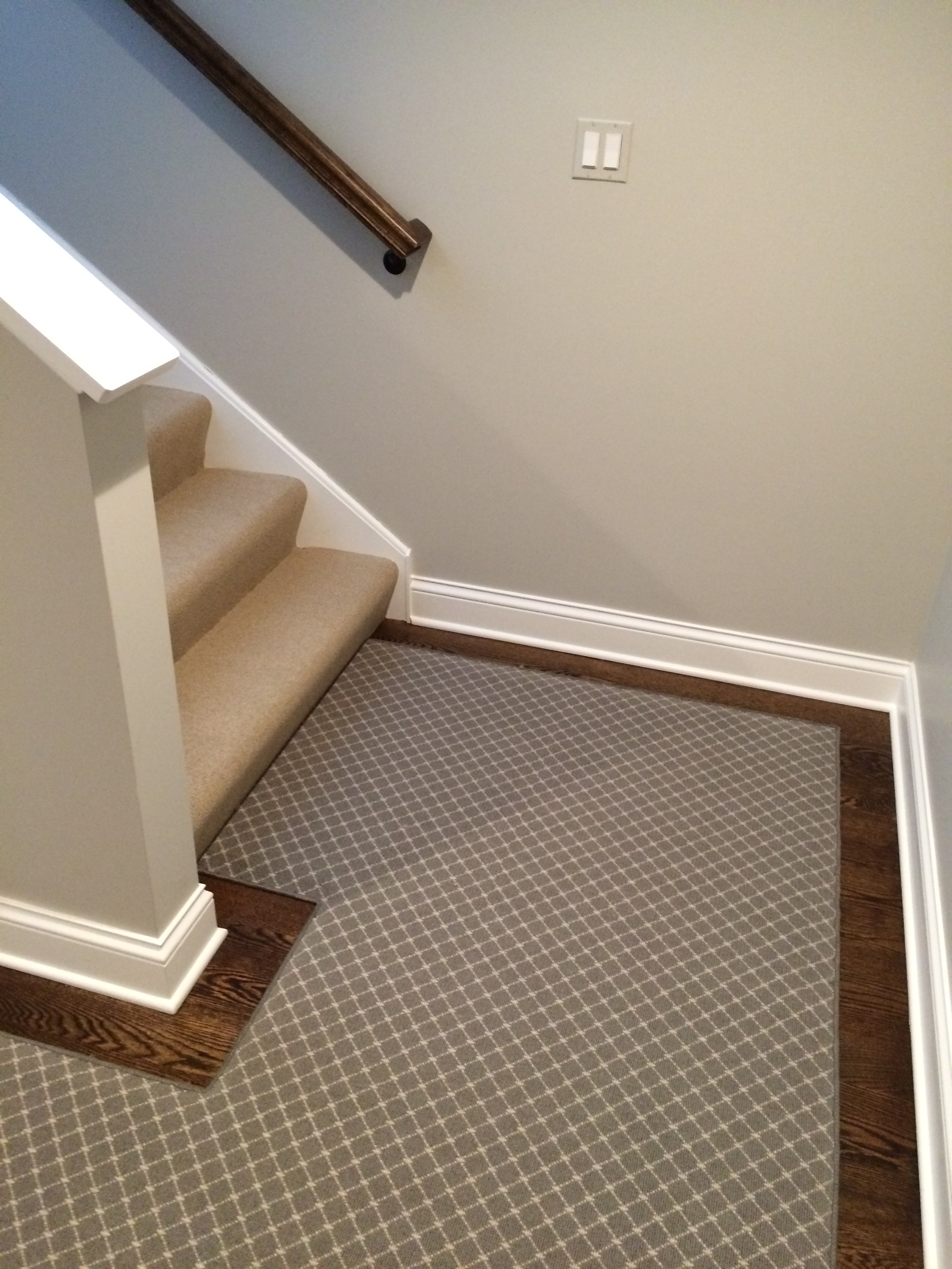 Stair Carpet Gain Inspiration And View Stair Carpet Projects | Grey Herringbone Carpet Stairs | Antelope | Victorian | Middle Stair | Roger Oates | Blue