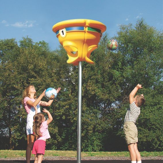Funnel Ball By Childworks Funnel Ball School Playground