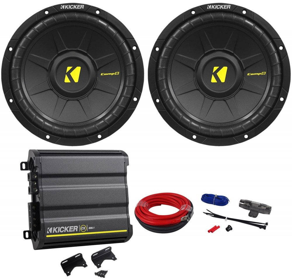 Four Kicker Cvr 2 Ohm Subwoofer Wiring Diagram