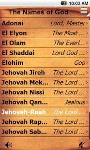 The Names of God - Apps on Google Play