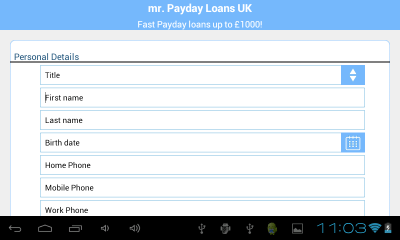 Mr. Payday Loans UK - Android Apps on Google Play