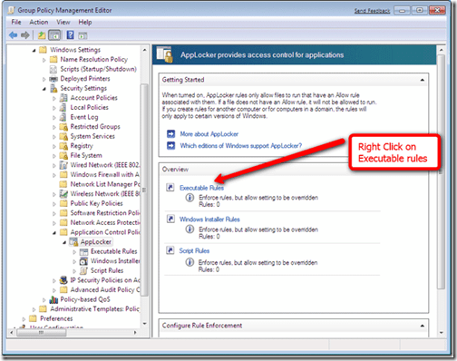 Local Security Policy Windows 7 Home