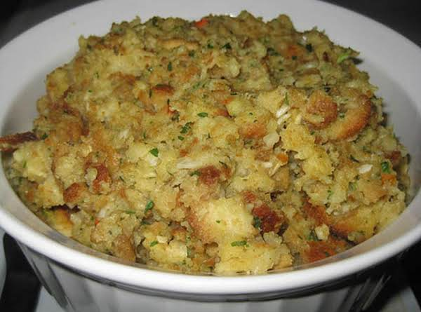My Mom s Perfect Thanksgiving Stuffing Recipe   Just A Pinch My Mom s Perfect Thanksgiving Stuffing Recipe