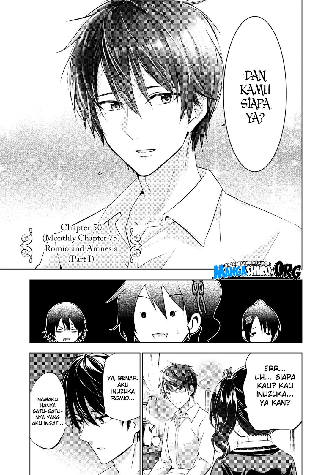 Kishuku Gakkou no Juliet: Chapter 75 - Page 6