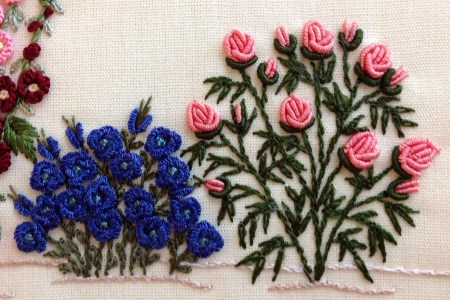 Simple Embroidery Designs Of Flowers Beautiful Flowers 2019