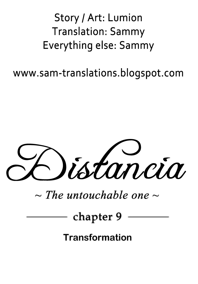 Distancia ~ The Untouchable One: Chapter 09 - Page 4