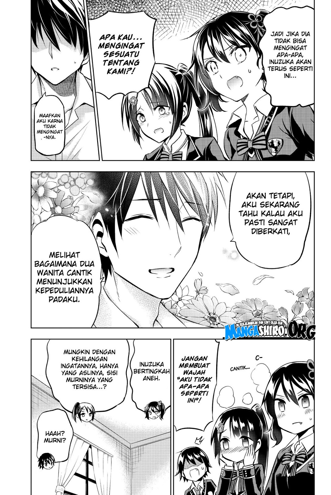 Kishuku Gakkou no Juliet: Chapter 75 - Page 8