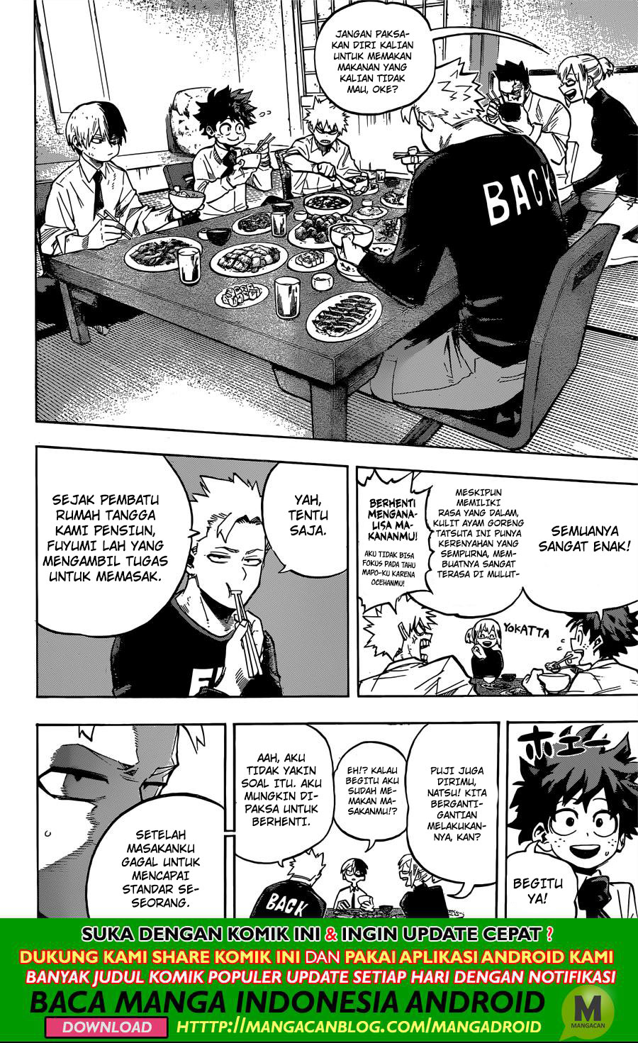 Boku no Hero Academia: Chapter 249 - Page 8