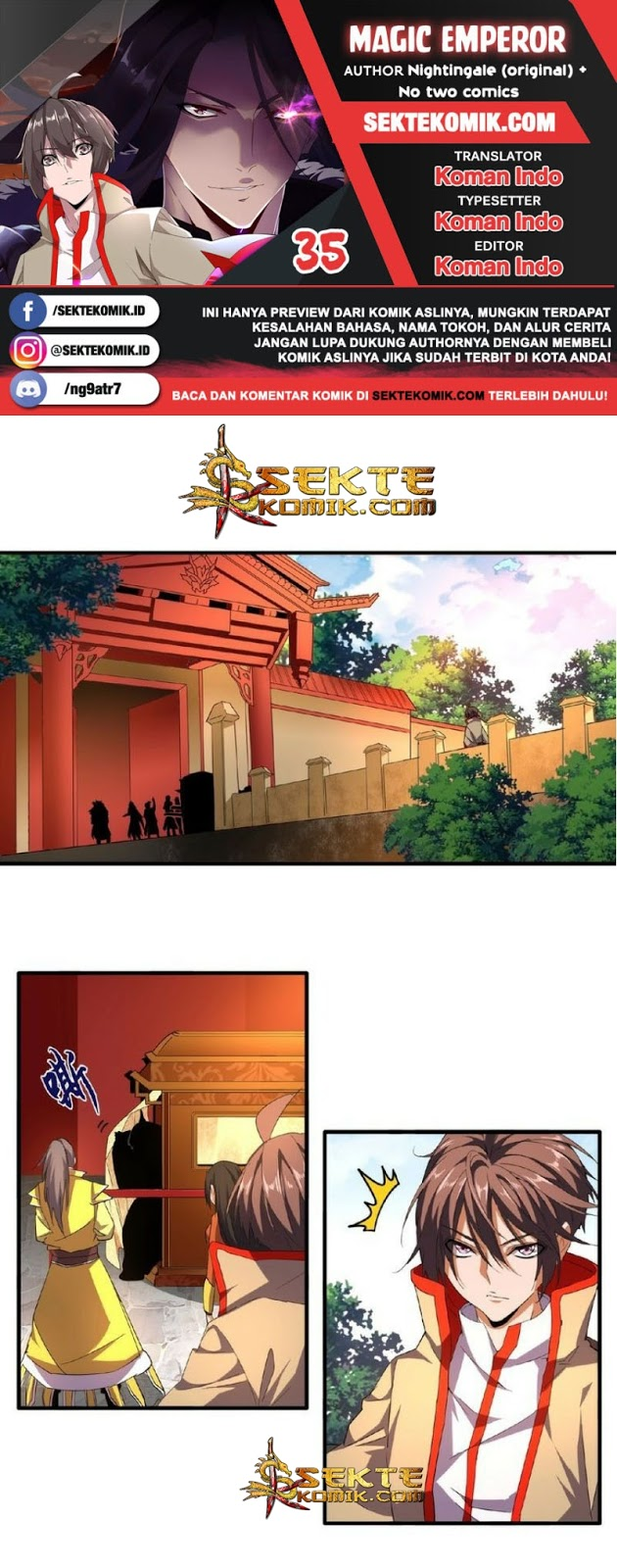 Magic Emperor: Chapter 35 - Page 1