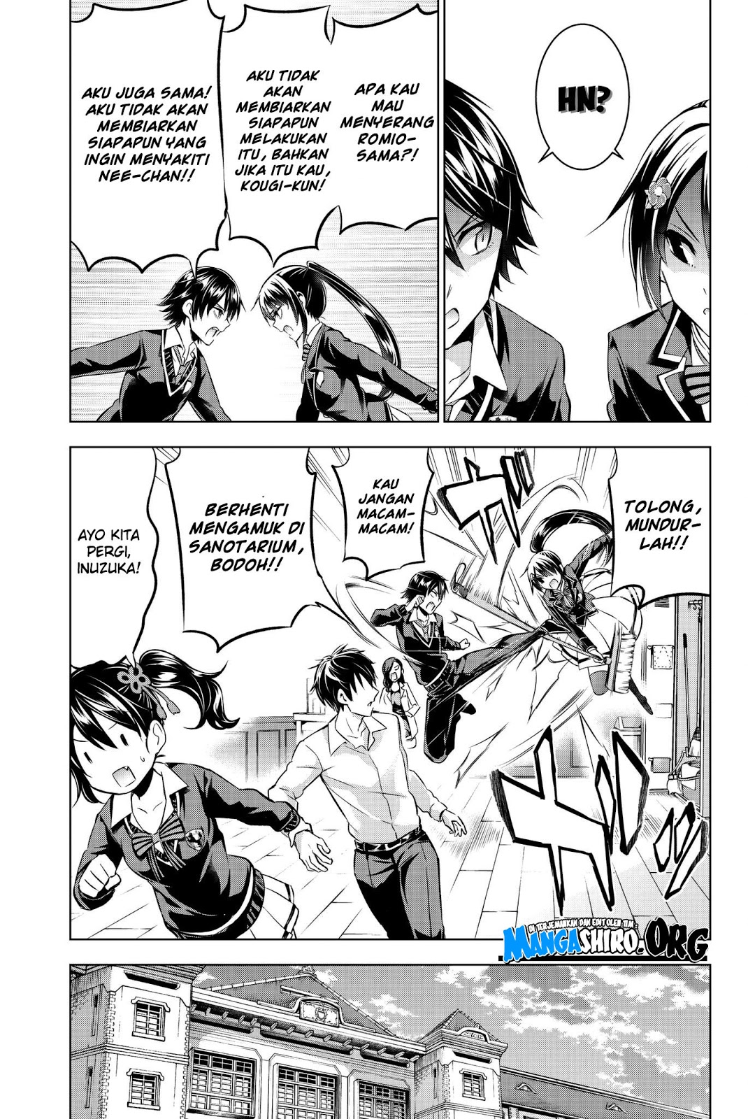 Kishuku Gakkou no Juliet: Chapter 75 - Page 10