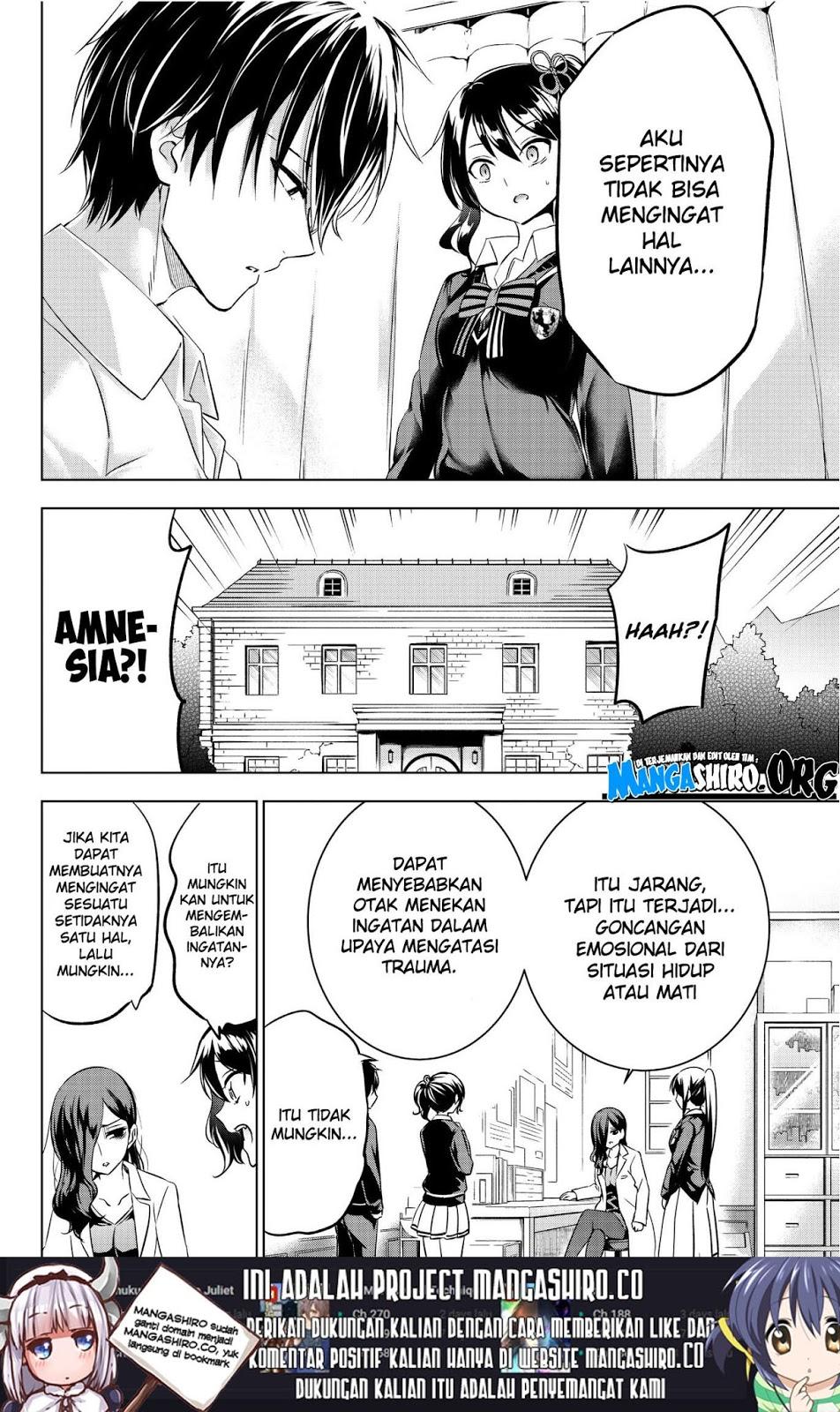Kishuku Gakkou no Juliet: Chapter 75 - Page 7