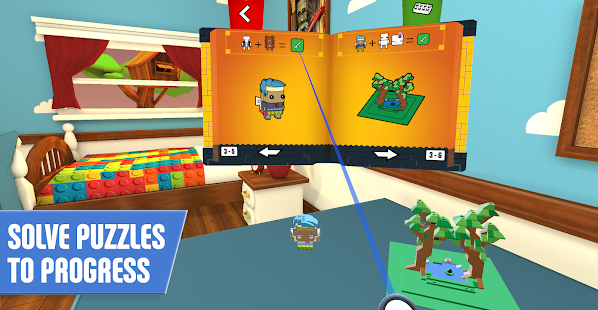 LEGO     BrickHeadz Builder VR   Apps on Google Play Screenshot Image