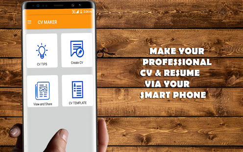 Job CV Maker   Resume Maker   Apps on Google Play Screenshot Image