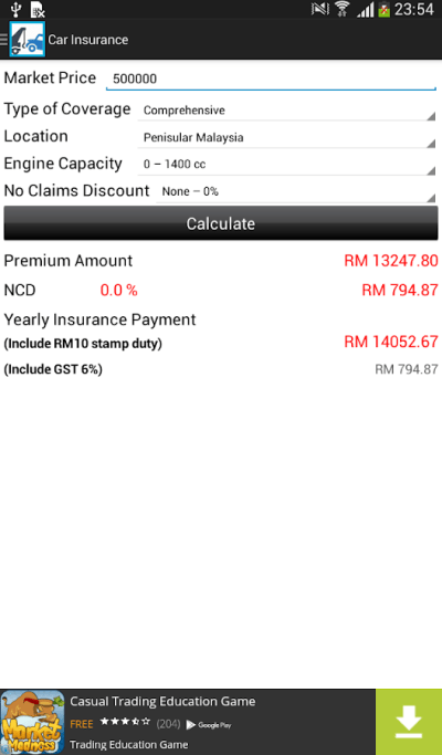 Car Loan Calculator (Malaysia) - Android Apps on Google Play