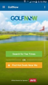 GolfNow     Book Tee Times   Android Wear Center GolfNow     Book Tee Times