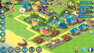 Town Building Games: Tropic Town Island City Sim - Android ...