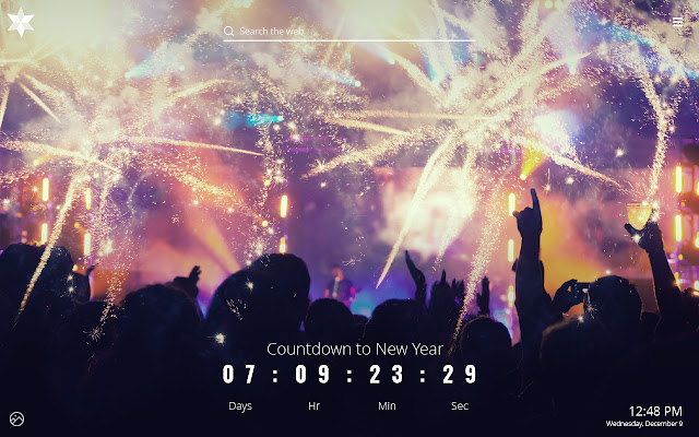 New Year Countdown 2019 Celebration   Chrome Web Store