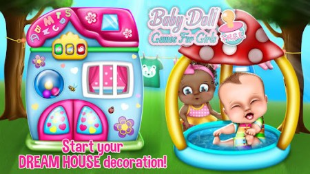 Baby Doll Games For Girls Free   Apps on Google Play Screenshot Image