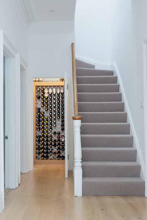 Decorating With Style Wood Stairs Would You Blue I Style | Small Rugs For Stairs | Area Rug | Stair Tread | Wood | Stair Rods | Stair Case