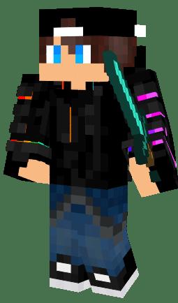 Rainbow Pvp Boy Nova Skin