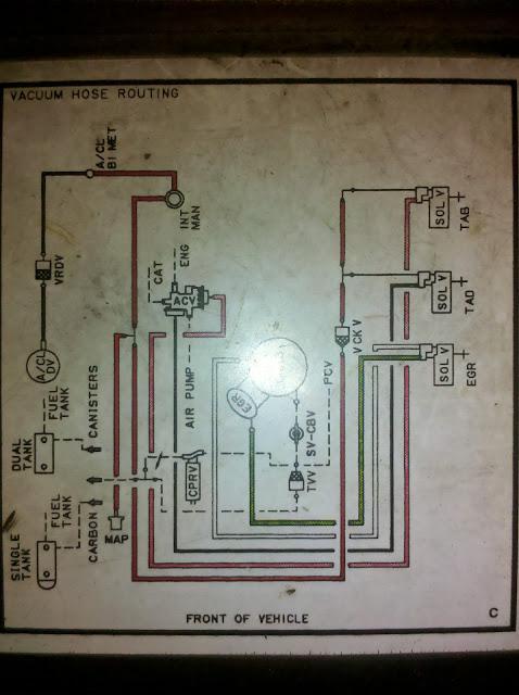 1984 I 6 F 150 Carb Vacuum Diagram Ford Truck