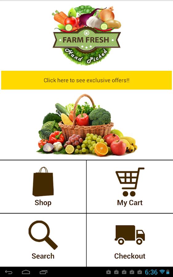 Farm Fresh Order Online