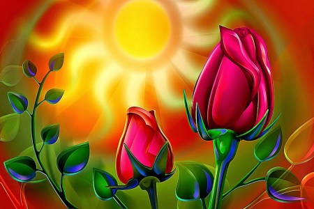 Wallpaper Hd 3D Flower Rose   Wallpaper Background Gallery 3d rose flower wallpaper