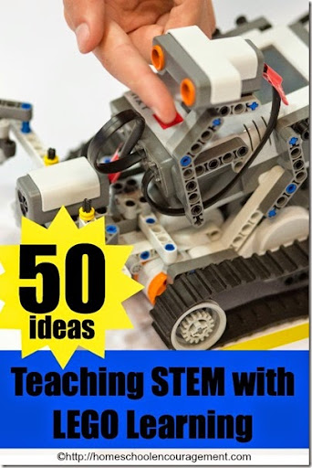 50 Ideas for Teaching STEM with LEGO STEM   50 ideas for teaching STEM with Lego Learning for homeschool  math   and