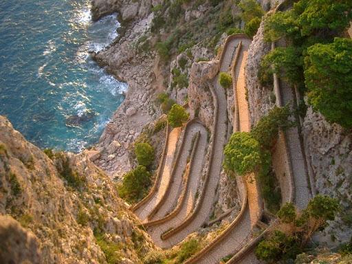 Via Krupp Of Capri Island Amusing Planet