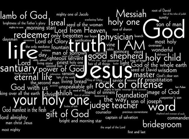 Through Hazy Eyes: Advent Day 8, The names of Jesus