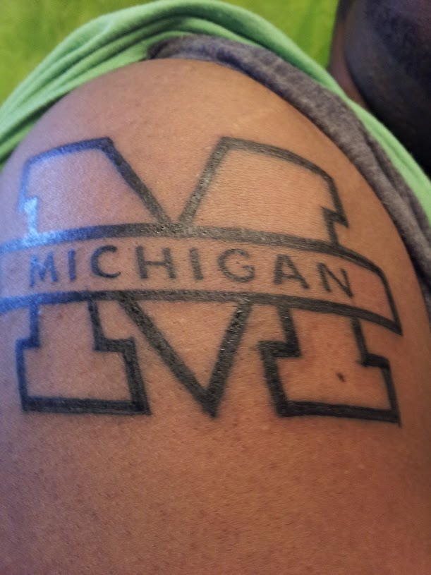 Michigan Wolverines Tattoos
