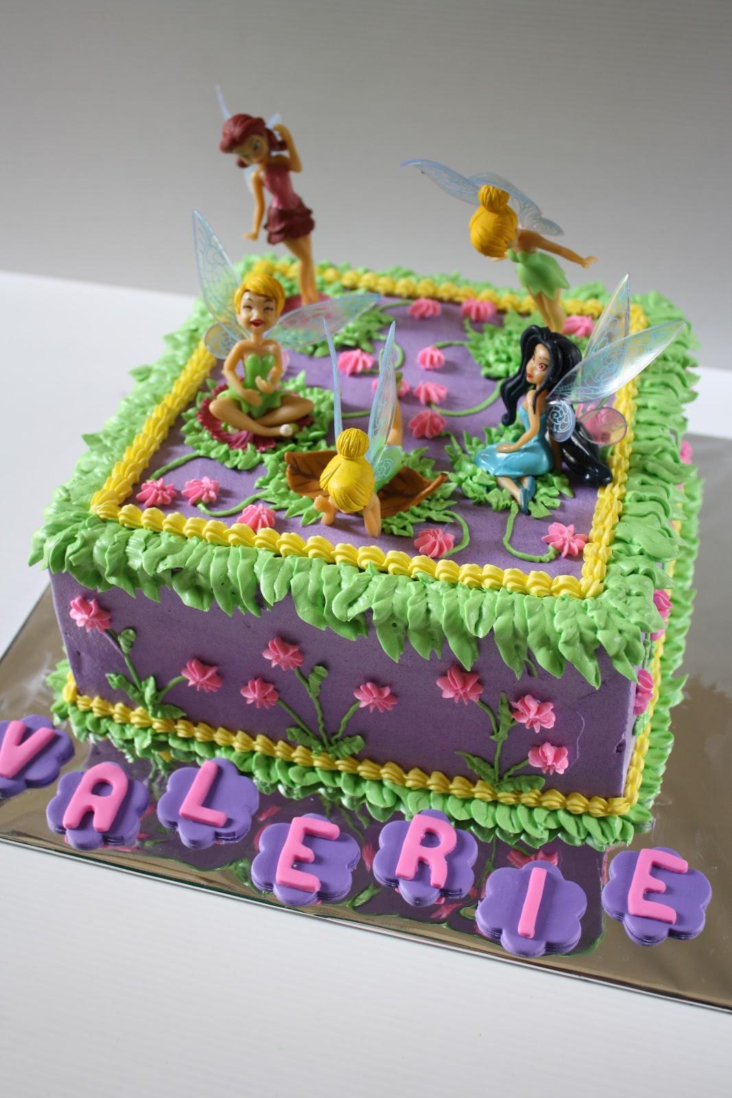 Masama Cakes Tinkerbell Birthday Cake For Valerie