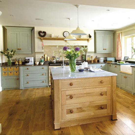 Modern Country Kitchen Design