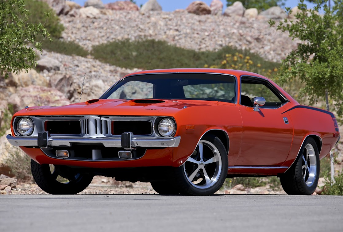1973 Plymouth Barracuda Restored Numbers Matching Cuda