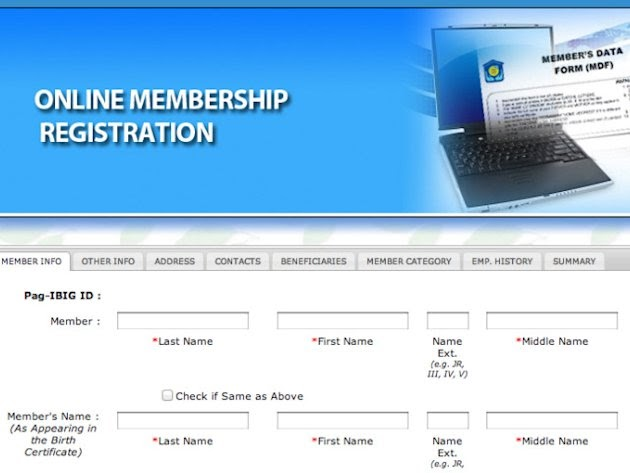 Online Registration for New Members Launched by Pag-IBIG ...