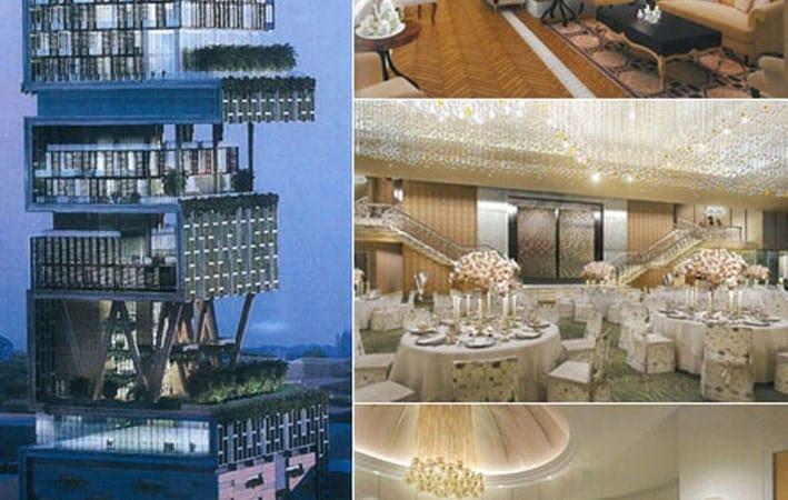 Anil Ambani House Interior