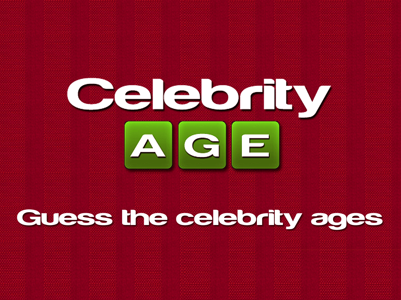 guess the age - HD1280×960