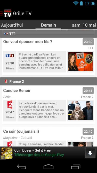 CeSoirTV - Programme TV TNT - Android Apps on Google Play