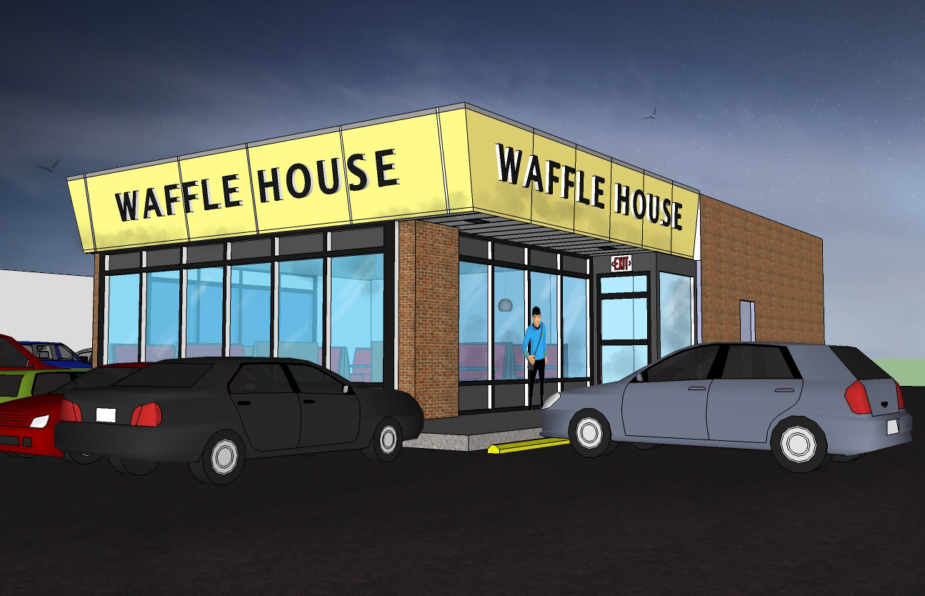 Number House Waffle