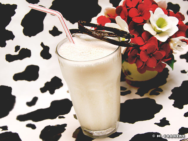 Vanilla Milkshake Hi Cookery