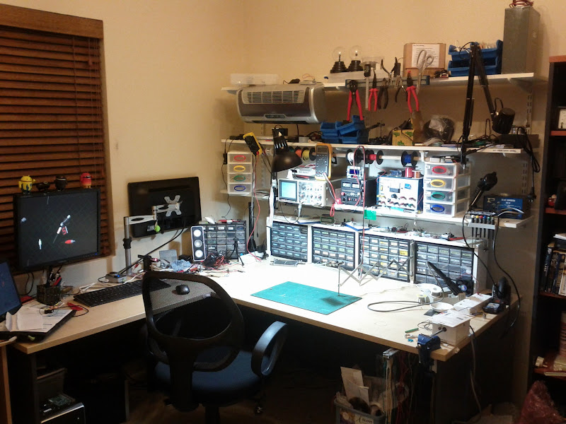 Whats Your Work Bench Lab Look Like Post Some Pictures Of