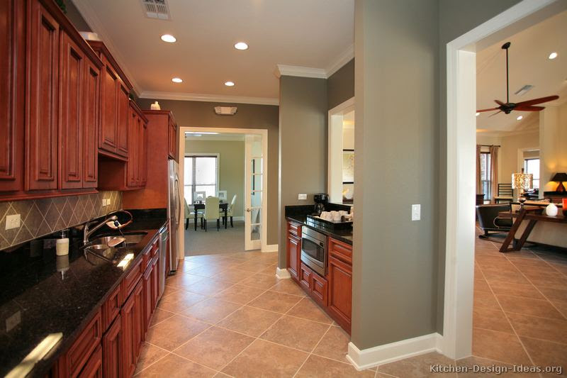 Kitchen Wall Colors With Cherry Cabinets Home Design